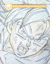 Son Goku – Dragon Ball Super – Official commissioned douga